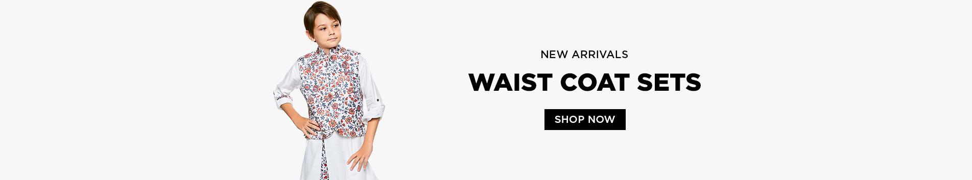 Waistcoat Sets For Boys