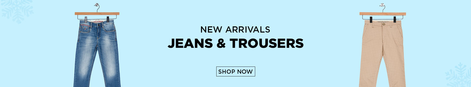 Boys Jeans & Trousers