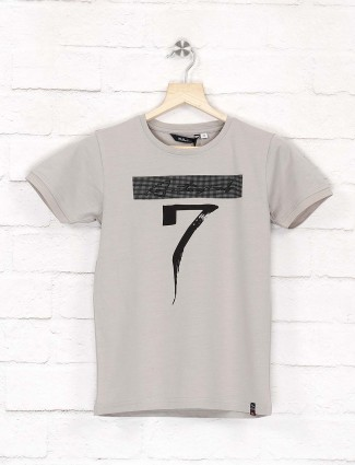 99 Balloon grey hue printed t-shirt