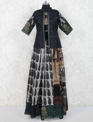 Black hue lovely lehenag choli