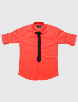 Blazo bright red hue party shirt