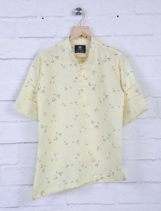 Blazo lemon yellow hue shirt