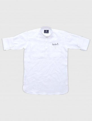 Blazo solid white shirt
