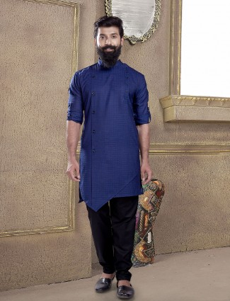Blue hue kurta suit