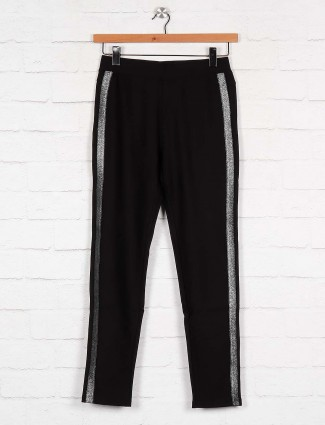 Boom black hue cotton jeggings