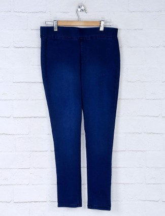 Boom blue cotton jeggings