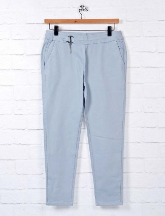 Boom sky blue ankle jeggings