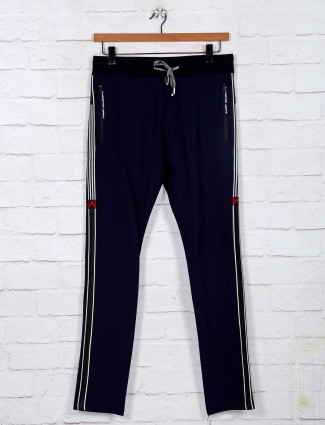 Chopstick navy color night track pant