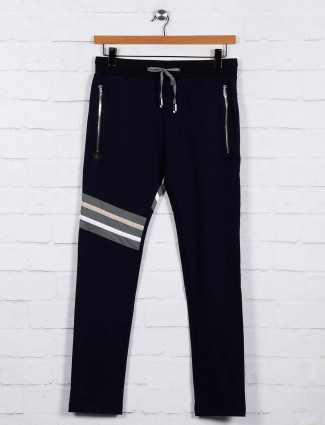 Chopstick navy comfortable track pant