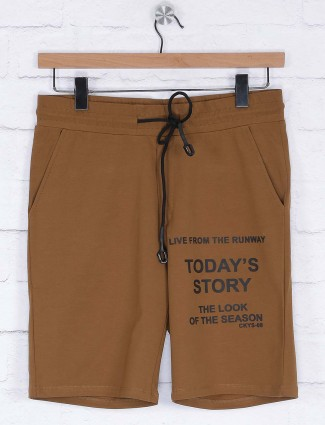 Cookyss brown colored shorts