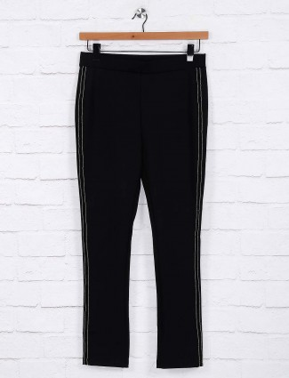 Deal black solid jeggings