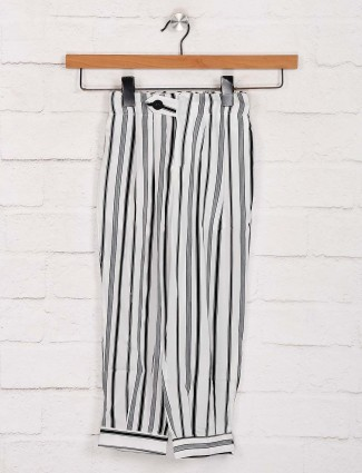 Deal stripe white casual get together palazzo