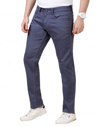 Dragon Hill blue solid regular jeans