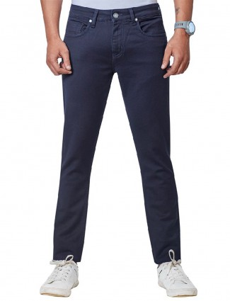 Dragon Hill dark navy solid jeans