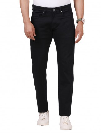 Dragon Hill fancy solid black jeans