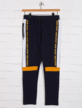 Dxi navy simple track pant