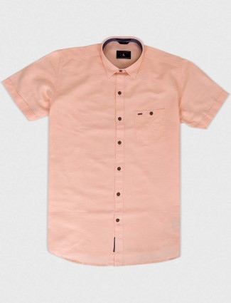 EQIQ pink colored simple shirt