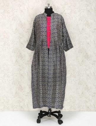 Exclusive silk fabric punjabi suit for women