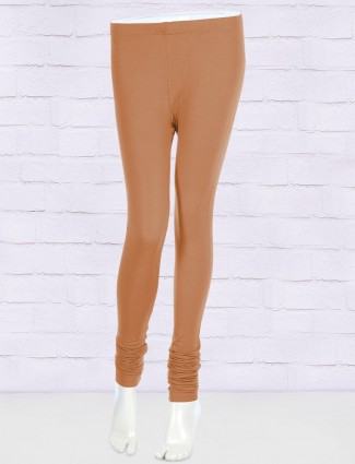 FFU beige cotton fabric leggings