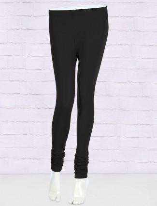 FFU black hue cotton fabric leggings