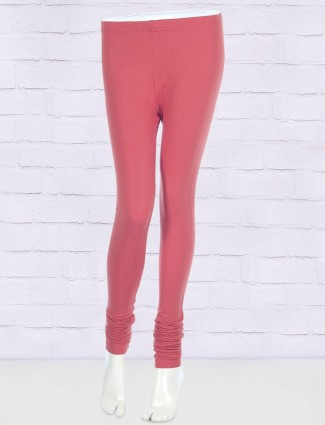 FFU coral pink comfortable leggings