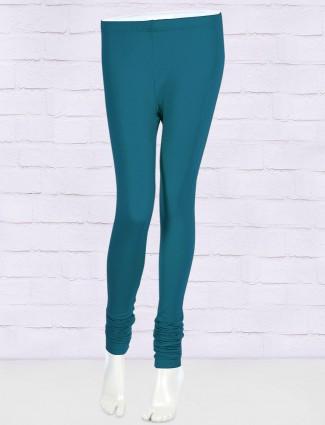 FFU cotton fabric blue hue leggings