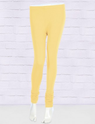 FFU lemon yellow colored leggings