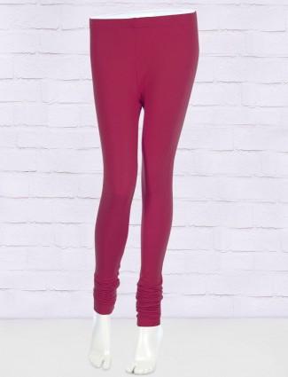 FFU skinny fit magenta hue leggings