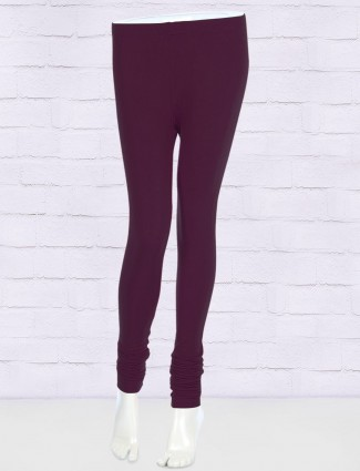 FFU skinny fit purple color leggings