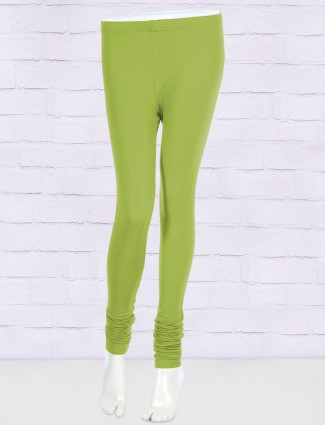 FFU solid parrot green leggings