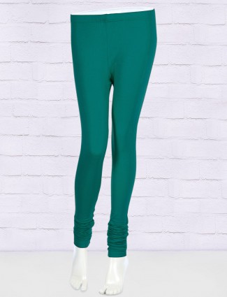 FFU stretchable rama green color leggings