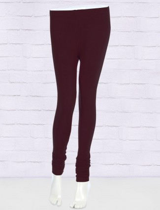 FFU wine hue cotton leggings