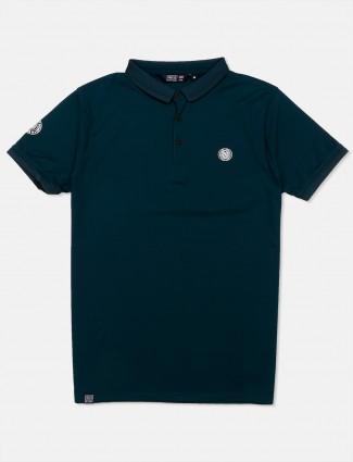 Freeze bottle green solid t-shirt