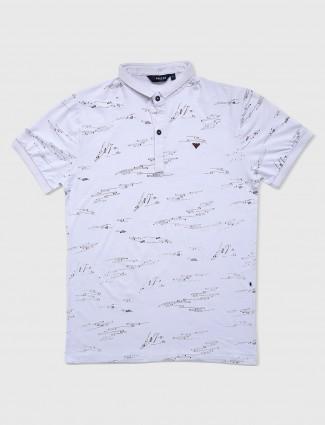 Freeze white t-shirt