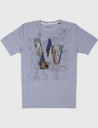 Fritzberg grey printed t-shirt