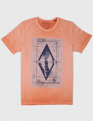 Fritzberg presented peach color t-shirt