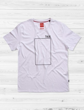 Fritzberg white simple t-shirt