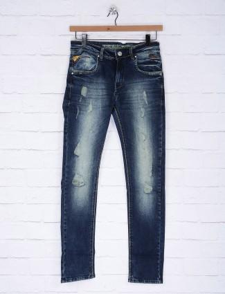 Gesture simple blue slim fit jeans