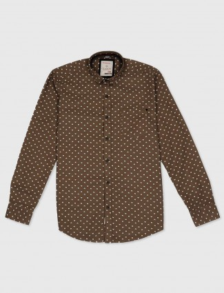Gianti light brown shirt