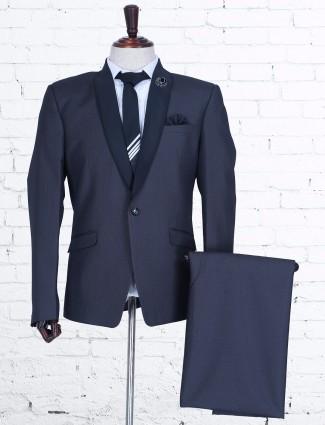 Grey terry rayon wedding coat suit