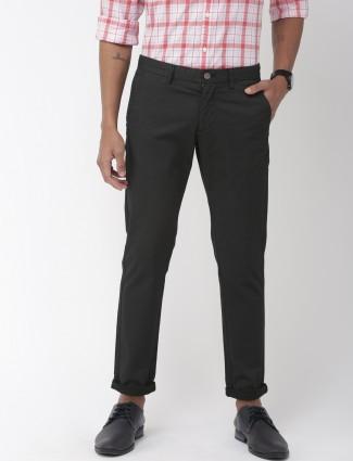 Indian Terrain printed black color trouser