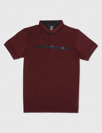 Instinto maroon t-shirt