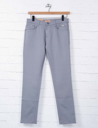 Irony slim fit solid dark grey jeans