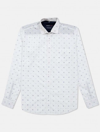 Killer cotton white printed shirt