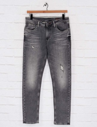 Killer dusty grey slim fit casual wear jeans