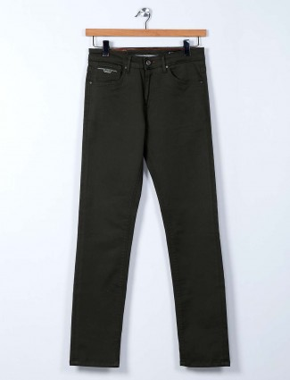 Killer solid olive super slim fit jeans