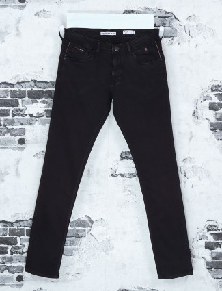 Kozzak black denim jeans