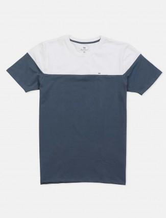 Kuch Kuch solid dark grey cotton t-shirt