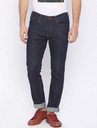 Lee navy denim jeans