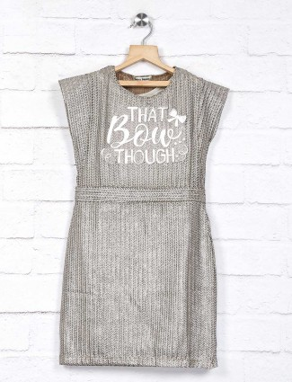 Leo N Babes casual grey knitted top